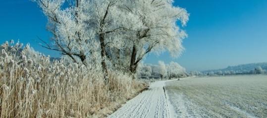 Meteo: in arrivo gelo e neve, temperature giù anche di 10 gradi da domenica