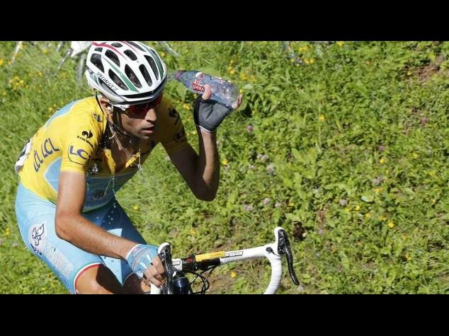 """Tour 2014: Nibali terzo sigillo nel giorno di Bartali,""""che caldo"""""""