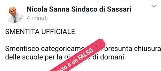 Maltempo: a Sassari smentita l'allerta arancione, ma è una bufala. L'ira del sindaco
