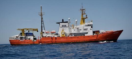 """Migranti: """"Scaricòrifiuti pericolosi"""".La naveAquariusè stata posta sotto sequestro"""