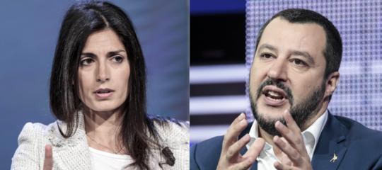 Sulla demolizione delle ville deiCasamonicala Raggi brucia Salvini