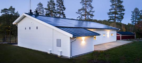 Svezia casa energia solare