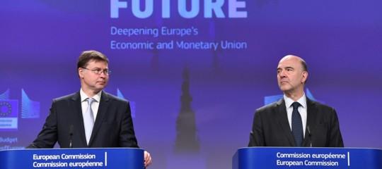 Commissione Ue boccia manovra Italia procedura