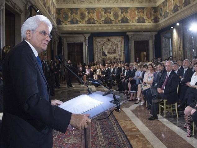 Mattarella a Palermo inaugura pinacoteca di Villa Zito