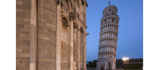 La Torre di Pisa pende un po' meno