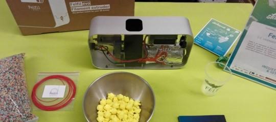 Felfil, lastartupdi Torino che ricicla il filamento per le stampanti 3D
