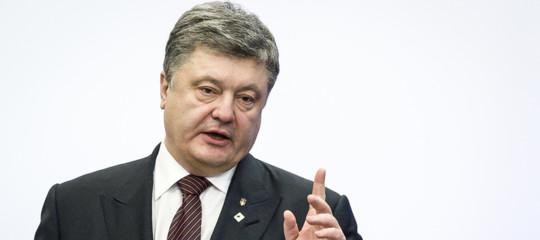Russai-Ucraina Poroshenko
