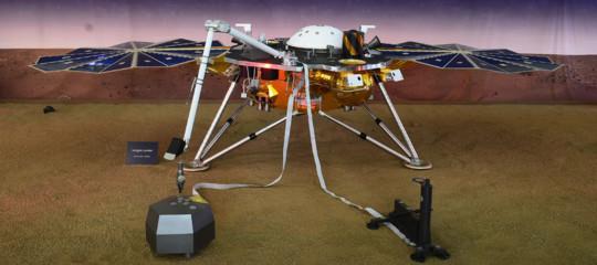 Spazio: la sondaInSightatterrata con successo su Marte