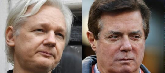 Russiagate: Guardian, Manafort incontro' Assange nel marzo 2016