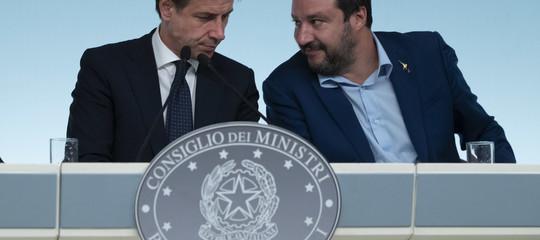 Salvini e Conte fermano ilGlobalcompact, ma ilM5sè diviso