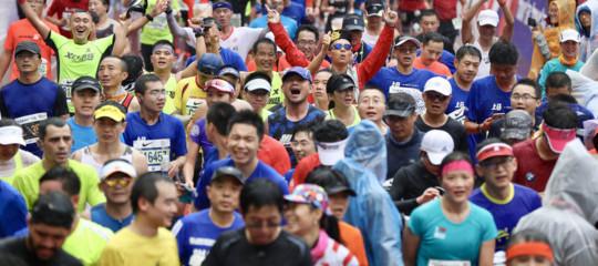 furbetti maratona Cina