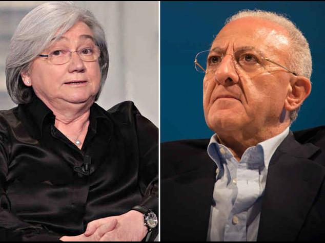 Regionali: ira del Pd sulla Bindi De Luca tra i 16 'impresentabili'