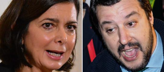 boldrini salvini commenti sessisti piazzale loreto