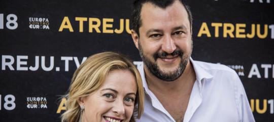 """Meloni: """"Salvini assente al vertice centrodestra? Capita agli uomini che hanno l'amante..."""""""
