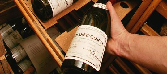 Venduta in Francia a 10 milioni di euro un collezione vini rariRomanee-Conti