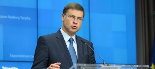 """Dombrovskisall'Italia: """"Serve un piccolo sforzo strutturale sulla manovra"""""""