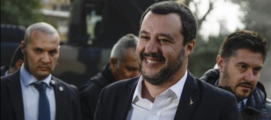 """""""Sono stati zitti per anni, ci lascino lavorare"""", dice Salvini degli imprenditori"""