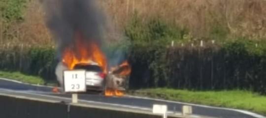 C'è stata una grossa rapina a un portavalori sulla Avellino-Salerno