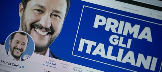 Se Salvini non avesse Twitter
