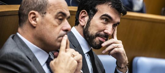 Le accuse aZingarettidi volereun'alleanza con il Movimento 5 stelle