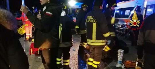 Gli elementi emersi finora della strage in provincia di Ancona