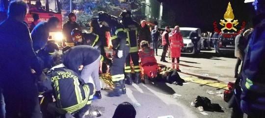 Ancona: Migliorano 4 dei 7 feriti gravi della strage della discoteca di Corinaldo
