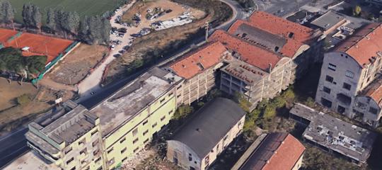 Roma: cominciato lo sgombero dell'ex fabbrica di penicillina