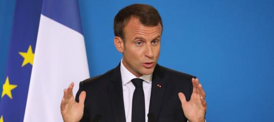 Gilet gialli Macron