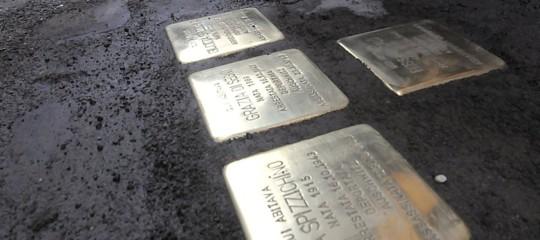 Shoah: nelle pietre di inciampo rubate storia famiglia Di Consiglio