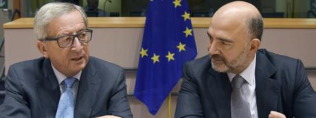 Moscovici e Juncker