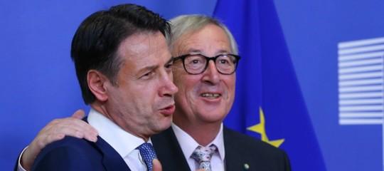 Conte si dice fiducioso sulla trattativa con l'Ue sulla manovra
