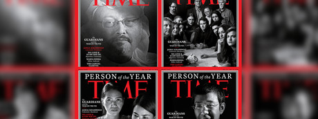 """Perché Time ha premiato i """"guardiani"""" in guerra per la verità"""