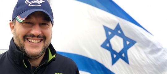 Le 24 ore di Matteo Salvini in Israele