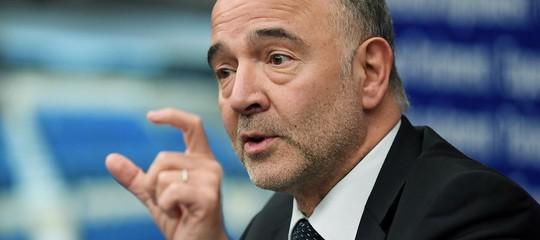 """Moscovici: """"La riduzione del deficit italiano al 2,04% non è ancora sufficiente"""""""