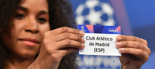 Champions: agli ottavi sarà Juventus-Atletico Madrid e Roma-Porto