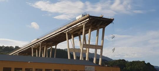 Ponte Morandi: via libera alla demolizione del lato Ovest
