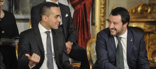 Perch salvini e di maio pensano ora a ridurre il numero for Numero parlamentari italia