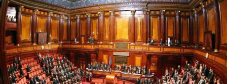 Senato, l'Aula di Palazzo Madama