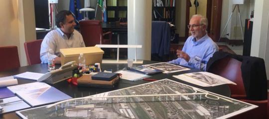 L'orgoglio di Renzo Piano per il cantiere del nuovo ponte di Genova