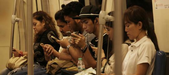 smartphone traffico dati anonimi