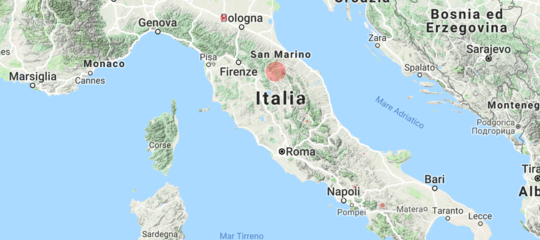 Terremoto: scossa sismica di magnitudo 3.6 tra Umbria e Marche