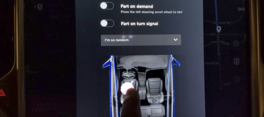 Muskha pensato per le auto Tesla un modo per mettere in imbarazzo chiunque