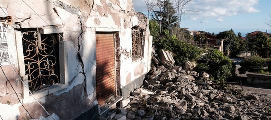 Terremoto scosse Catania