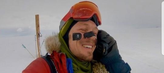 La storia diColinO'Brady, il primo uomo che ha attraversato l'Antartide da solo