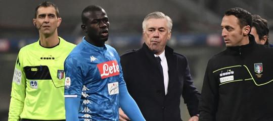 Inter-Napoli poteva essere sospesa per i cori razzisti controKoulibaly?