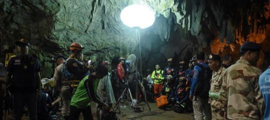I 'cinghialotti' intrappolati nella grottaThamLuang