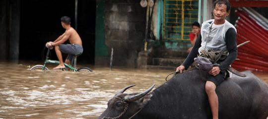 filippine alluvione morti