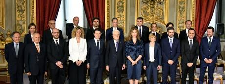 I ministri (AFP)