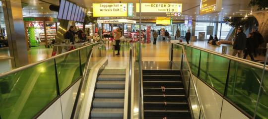 aeroporto amsterdam allarme bomba