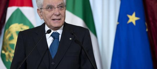 """Mattarella: """"La politica responsabile non alimenta paure e nazionalismo"""""""